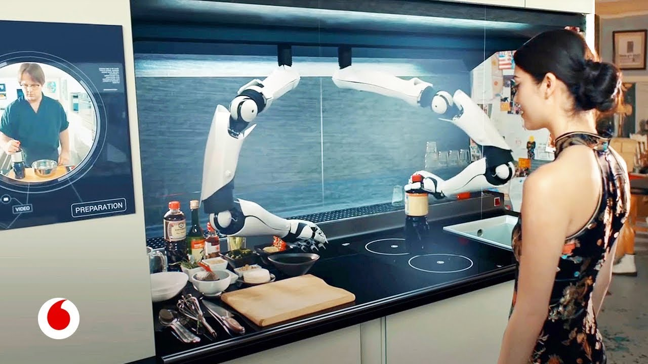Moley el incre ble robot de cocina que imita a los for Cocinar con robot