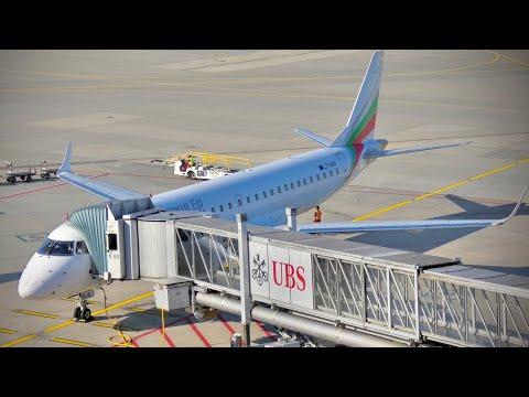 TRIP REPORT | Bulgaria Air (ECONOMY CLASS) | Sofia - Zürich | Embraer 190
