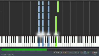 Chopin: Prelude in E minor - Op. 28 No.4 - Piano Tutorial (Synthesia) + Sheet Music & MIDI