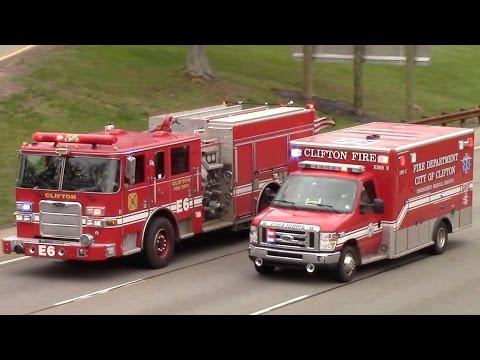 Fire Truck Responding Compilation Part 23