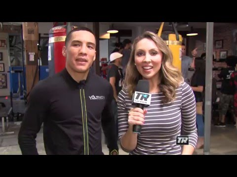 Valdez-Gradovich | Oscar Valdez Interview | Undercard Workouts