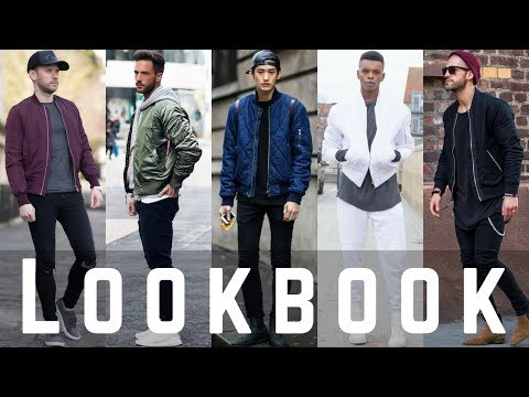 Bomber Jacket Outfit Ideas for December | Winter 2018 Fashion Looks