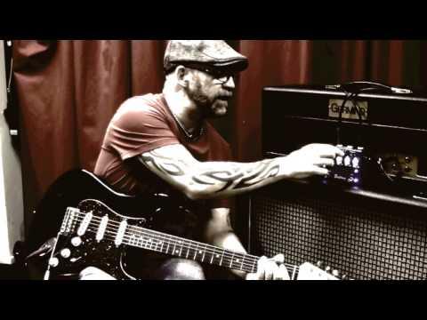 Bogner Ecstasy Blue Pedal With Stratocaster