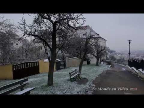 Prague   A Walking Travel Tour of Baroque Mala Strana , down the street Neruda
