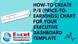 How-to Erstellen, P/E (Kurs-Gewinn -) Diagramm in Excel für Ihre Executive-Dashboard-Vorlage