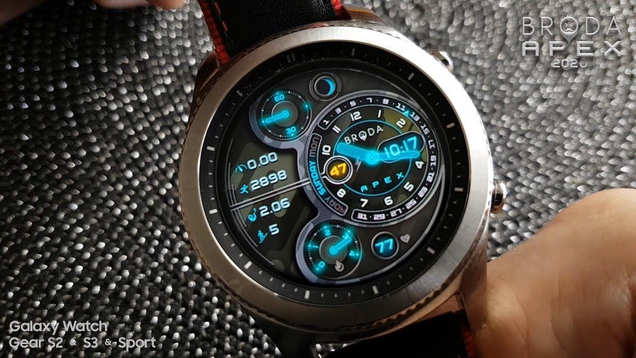 New Samsung Watch 2020 Broda Apex 2020 for Samsung Galaxy Watch / Gear Sport / S3 / S2