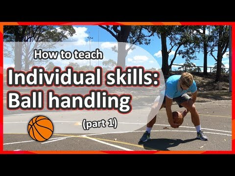 Ball handling, skills & control: Part 1 | Teach Basketball Skills