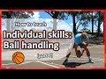Individual skills: Ball handling › Part 1 | Basketball skills in PE