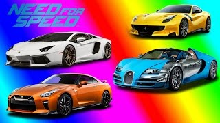 Top 5 Fastest Cars In Need For Speed Rivals