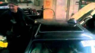 Как правильно разбить люк на машине :D
