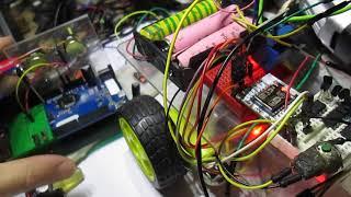 машинка на радиоуправлении на wi-fi esp8266  arduino