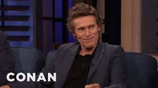 "Willem Dafoe Had Scripted Farts In ""The Lighthouse"" - CONAN on TBS"