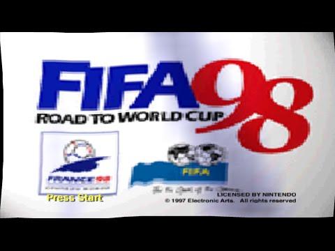 Nintendo 64 Longplay [029] FIFA Road To World Cup 98