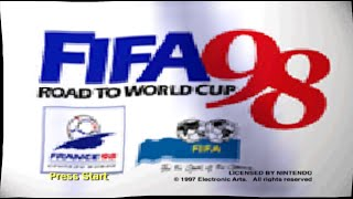 Nintendo 64 Longplay [029] FIFA Road to World Cup 98