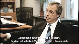 Nigel Farage on Bureaucrats, Referenda and EU goal