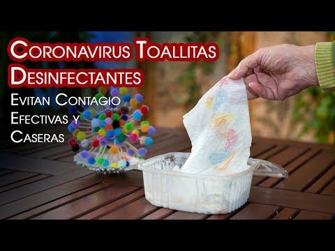 Coronavirus Evitar Contagio Toallitas Desinfectantes Efectivas Diy