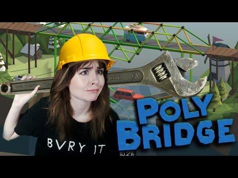 Worlds worst Engineer - Polybridge: HOW DOES PHYSICS WORK????