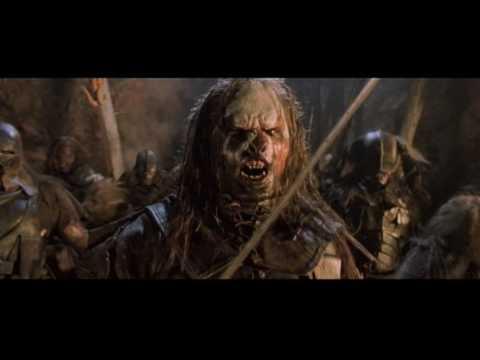 LOTR - The Fighting Uruk Hai (Correct Version) - YouTube