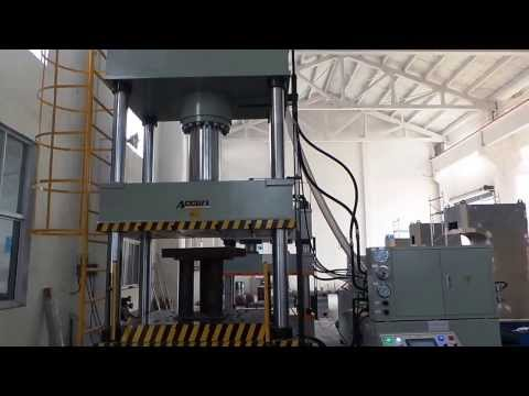 Four Column Double Action Hydraulic Press 300 tons for Accurl(China)