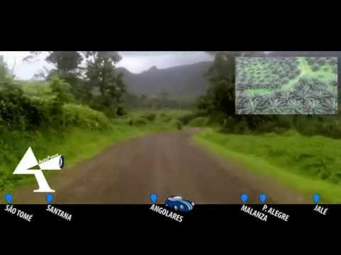 Visão em Movimento - Street View da Capital até Praia Jalé (São Tomé e Príncipe)