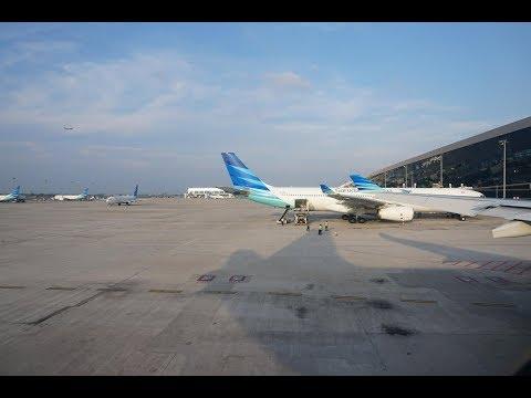 First time from Terminal 3 Ultimate CGK: Garuda Indonesia GA838 Jakarta to Singapore Mp3
