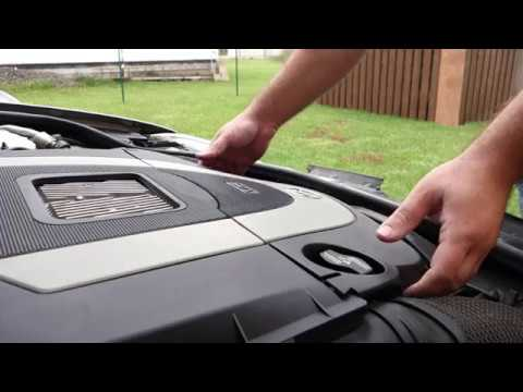 SPARK PLUGS REPLACEMENT – MERCEDES S350 W221 (how to replace S-class spark plugs diy)