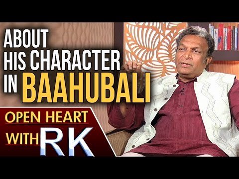 Senior Actor Nassar About His Character In Baahubali | Open Heart With RK | ABN Telugu