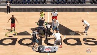 NBA LIVE 16 - Pro-Am / Summer Circuit Gameplay - ACUTAL 5 vs 5 GAMEPLAY!
