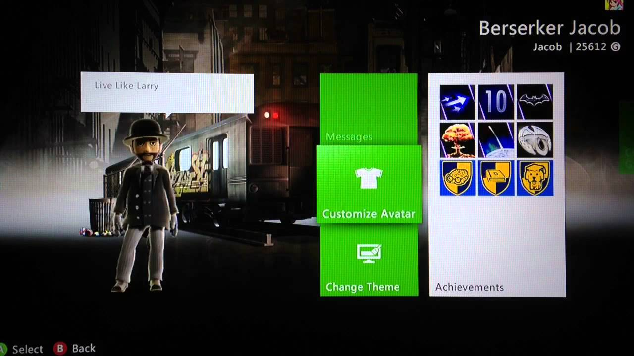How To Change Your Xbox 360 Wallpaper Background Theme Youtube