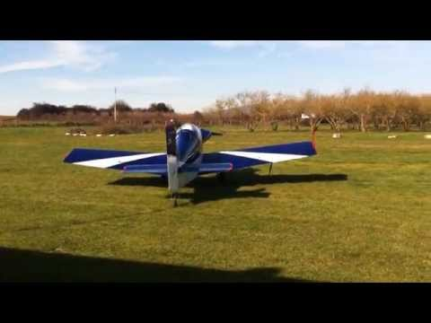 Corby Starlet first test fly over Reload
