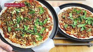 Pizza z tortilli z ajwarem i farszem mięsno-paprykowym :: Skutecznie.Tv