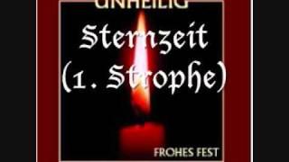 Unheilig - Sternzeit (1. Strophe) -
