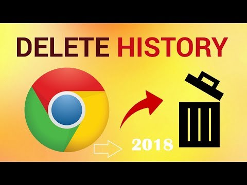 How to Delete Google Chrome Browser History 2018