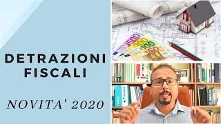 Novità 2020: Detrazioni fiscali e Bonus Facciate