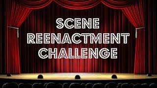 Scene Reenactment Challenge (ft. special guests) | Booktubeathon 2015