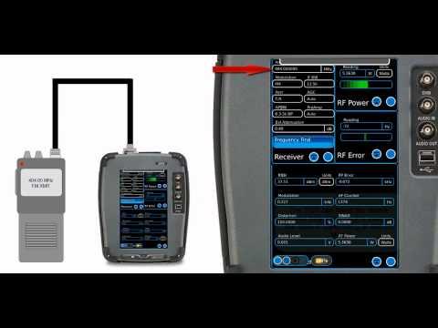 Training Aeroflex 3550 Radio Test System - FM Transmitter Testing