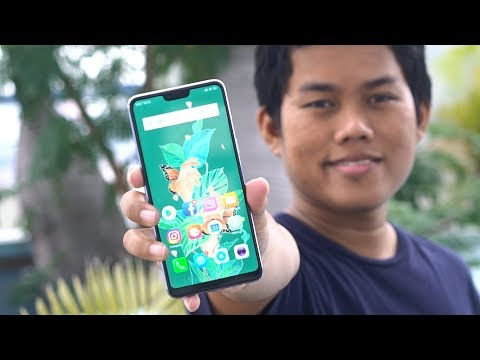 OPPO F7 Silver Resmi Hands-on Indonesia