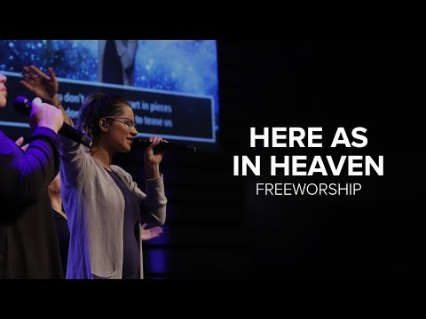 """""""Here As In Heaven"""" By Elevation Worship-Freeworship"""