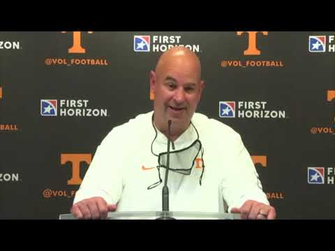 Jeremy Pruitt reacts to Vols' loss to Kentucky