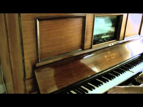 'Big Foot Ham' - Jelly Roll Morton Pianola roll.