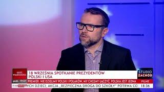 dr Jacek Bartosiak - o relacjach Polska-USA 02.09.2018