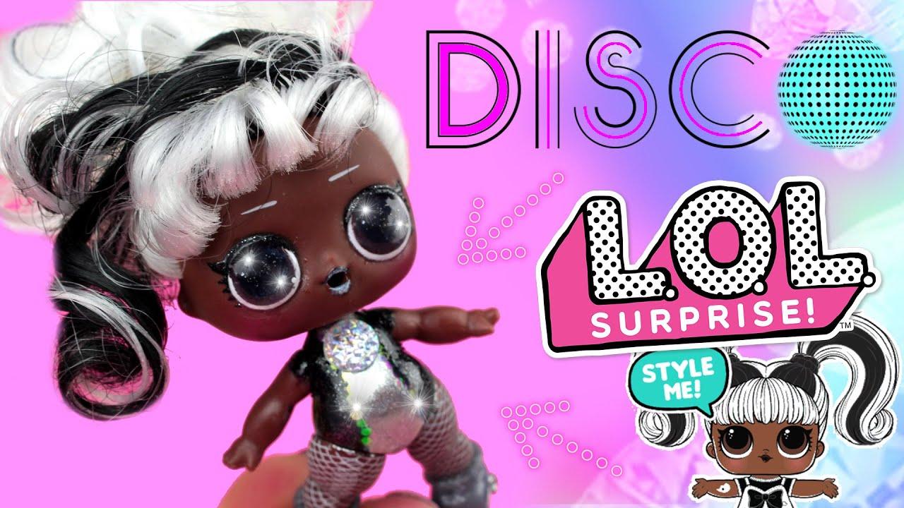 Disco LOL Surprise 🎶 Metamorfoza Laleczki Hairgoals 😈 Toys Land DIY