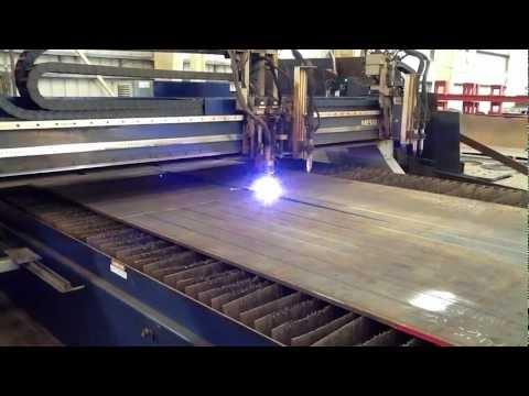 Hammer Haag Steel Fabrication Oxi Fuel/Plasma Table