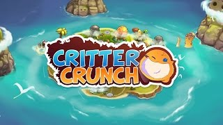 Critter Crunch Initial - By Capybara Games -Genre: Puzzle video game - PS3 Classic