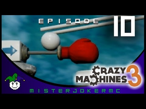 Crazy Machines 3 Gameplay - 10 - Space and Gravity |