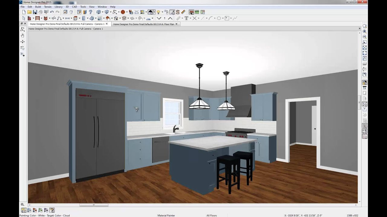 Home designer 2015 quick start youtube for In home designer