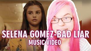 Selena gomez - bad liar (music video reaction)   sisley reacts
