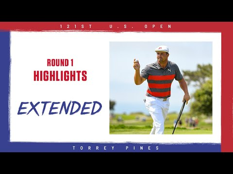 2021 U.S. Open, Round 1: Extended Highlights