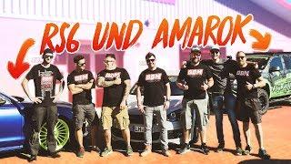 Erste mal im Audi RS6 und VW Amarok! Unterwegs mit BBM Motorsport