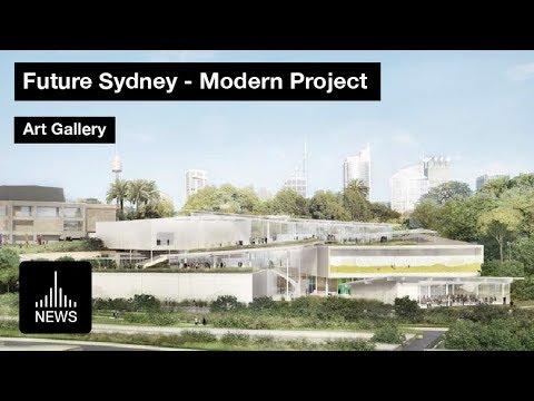 Future Sydney - Modern Project Art Gallery By SANAA